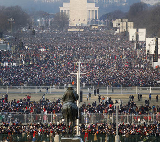 Inauguration Crowds
