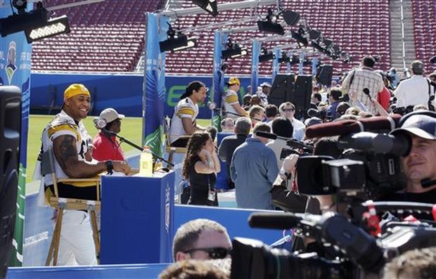 Super Bowl XLIII Media Day