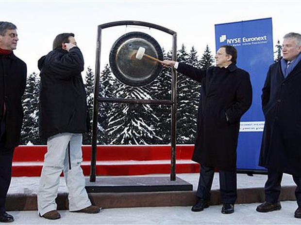 Fireworks at Davos