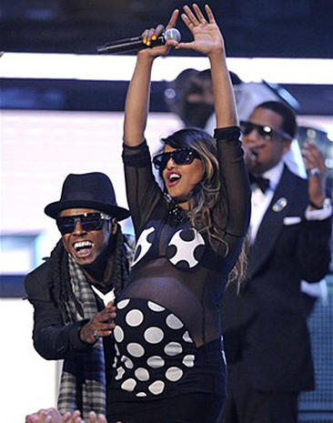 On The Grammy Stage