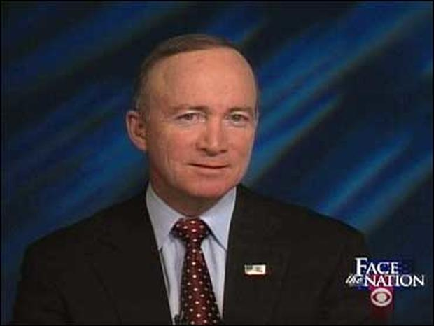 """Gov. Mitch Daniels, R-Ind., on """"Face The Nation"""""""
