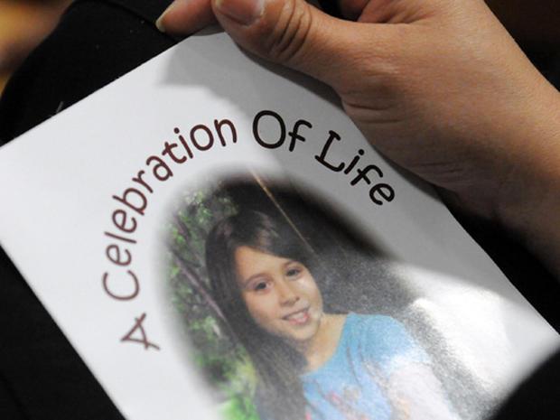 Slain Girl Mourned