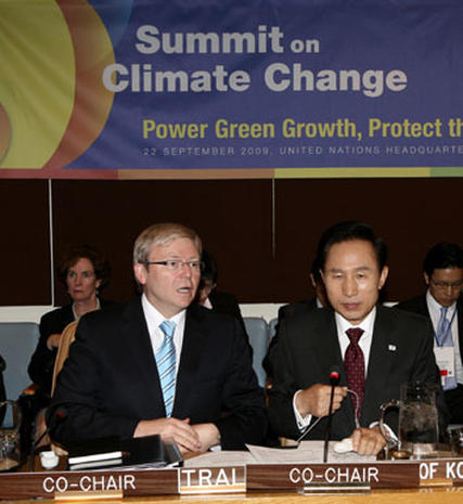 World Leaders Talk Climate Change