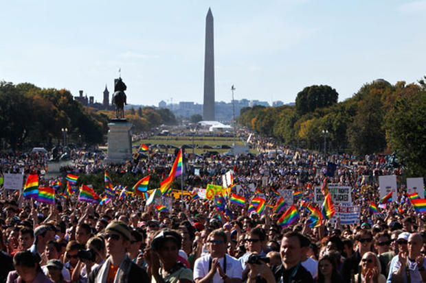 Gay Rights March in Washington