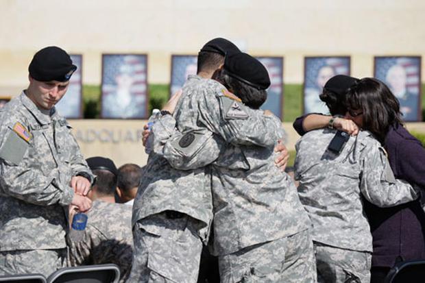 Memorial at Fort Hood