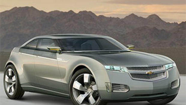 Gm 39 S Electric Cars Seek To Make Some Noise Cbs News