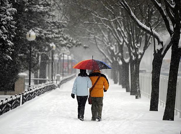 Record Snow in Asia
