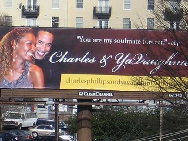 Scorned Lover's Billboard Revenge