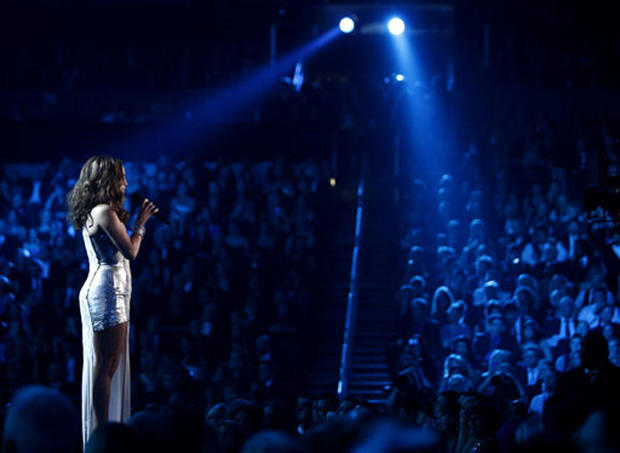 Scenes from the Grammys
