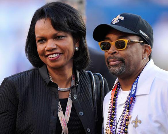 Stars at the Super Bowl