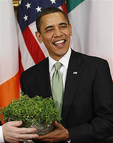 Shamrocks and the White House