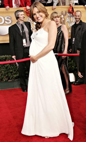 Red Carpet Pregnancy Fashions
