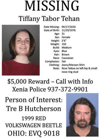 Tiffany Tehan Missing