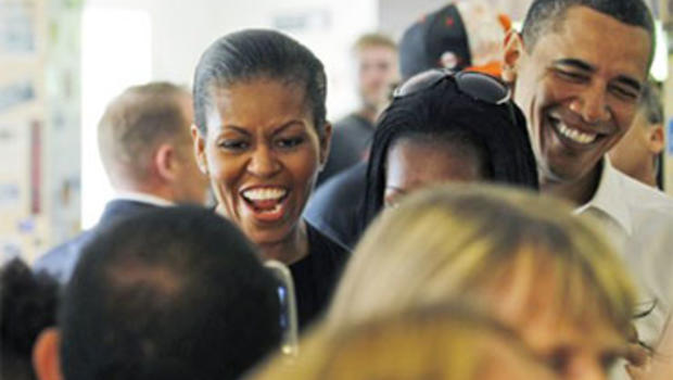 Obama, First Lady Start Vacation With BBQ, Hike - CBS News