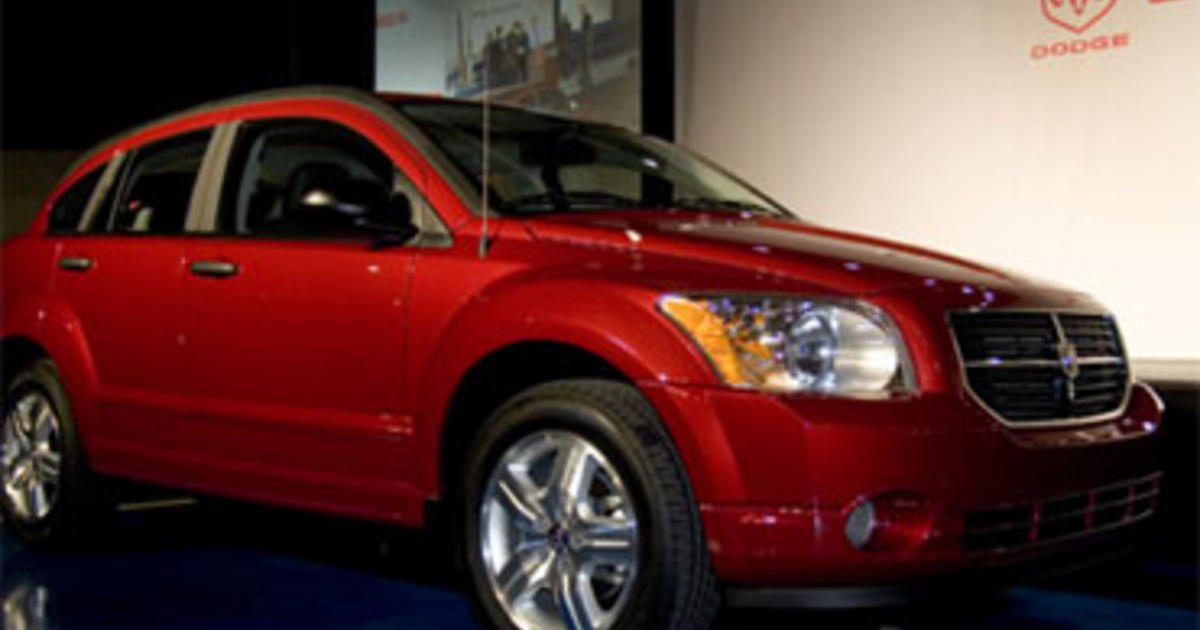 chrysler recalls 35k dodge calibers over pedals cbs news. Black Bedroom Furniture Sets. Home Design Ideas