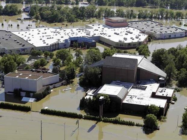 Flooding at the Grand Ole Opry