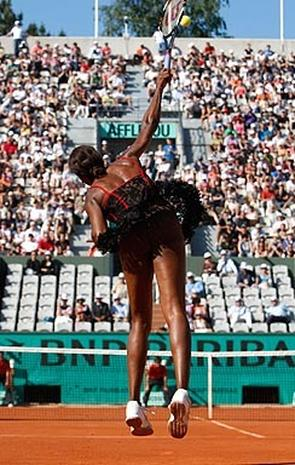 Venus Williams French Open Outfit Too Revealing?