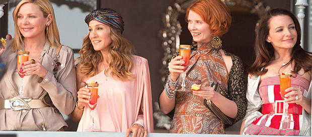 Sex And The City 2 cast: (from left) Kim Cattrall, Sarah Jessica Parker, Cynthia Nixon and Kristin Davis.