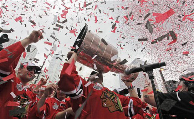 Blackhawks Parade