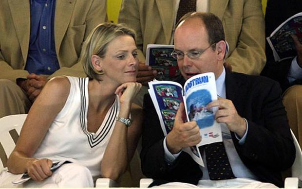 Charlene Wittstock and Prince Albert II