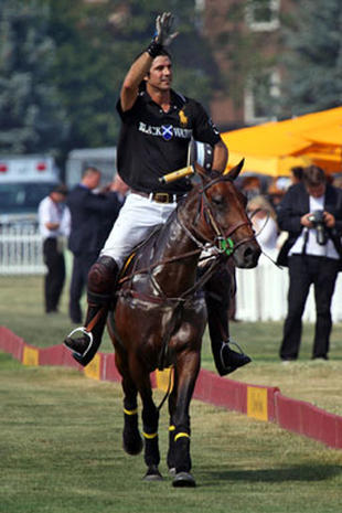 Prince Harry Plays Polo