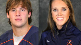 George Huguely and Yeardley Love (UVA Media Relations)