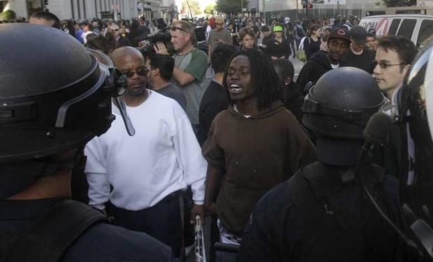 BART Shooting Verdict Unrest
