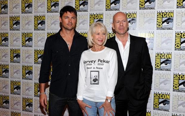 Celebs at Comic-Con 2010