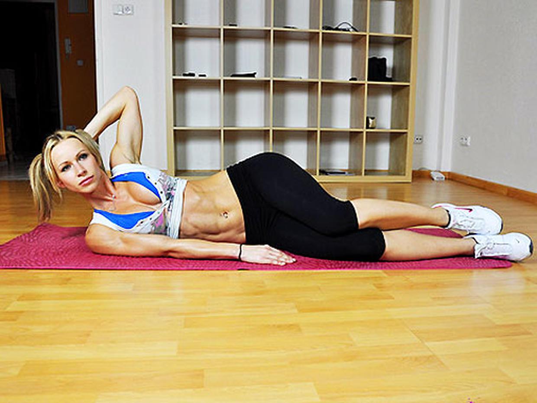 Как накачать боковые мышцы пресса 26