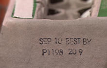 Identifying Recalled Egg Cartons
