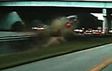 High-Speed Crash Caught on Tape