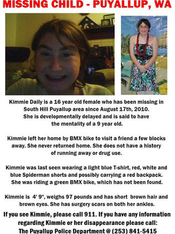 "Kimberly ""Kimmie"" Daily Murdered"