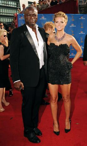 Heidi Klum and Seal