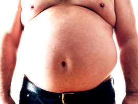 fat, obese, man, shirtless, naked, nude