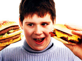 burger boy, fat, kid, hamburgers, diabetes