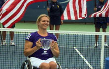 Wheelchair-Bound Tennis Champ