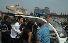 Police Stop Steve Hartman in China