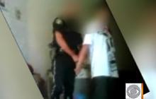 Cop 'Arrests' Stepdaughter's Boyfriend