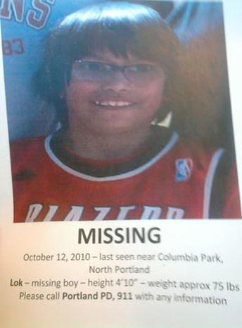 Lok Chante Marcellay Missing