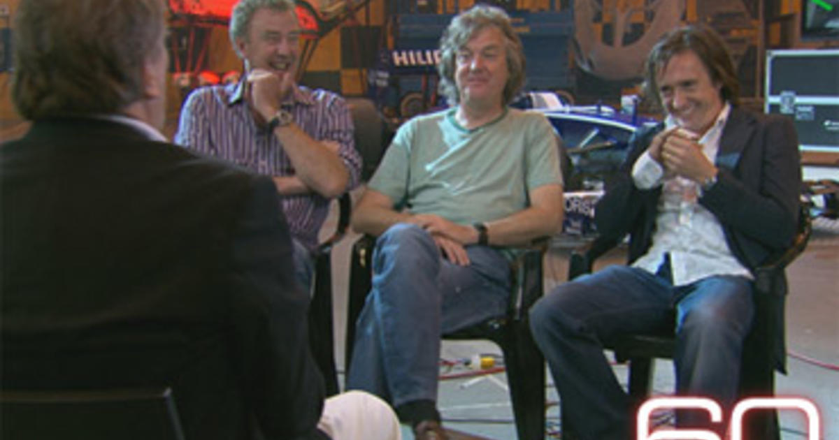 top gear trio set to host new car show for amazon prime cbs news. Black Bedroom Furniture Sets. Home Design Ideas