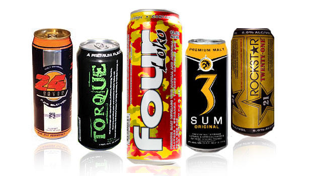 Four Loko and other caffeinated alcoholic drinks banned by Michigan state. (CBS)