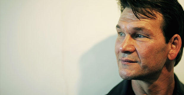 """Patrick Swayze during production of the musical """"Guys and Dolls"""" on June 5, 2006 in London, England."""