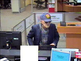 Geezer Bandit Strikes Again! 13th Bank Robbery in Calif.