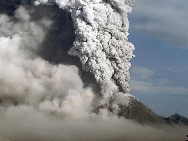 Indonesia Volcano Erupts