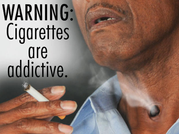 55 gruesome tobacco warning labels