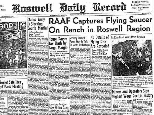 Roswell - 66 years of alien lore