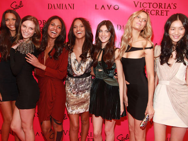 Stars at Victoria's Secret Fashion Show
