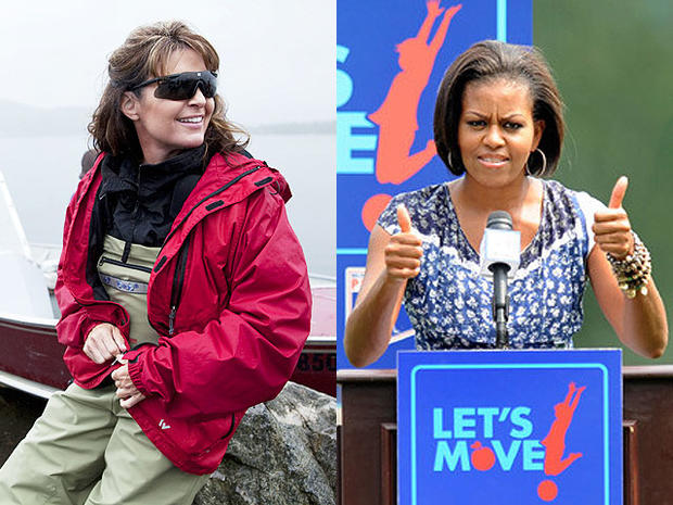"""Sarah Palin lashed out at Michelle Obama's """"Let's Move"""" campaign."""