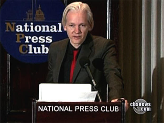 Julian Assange on Interpol's Most-Wanted List