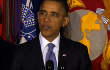 """Obama on Gay Soldiers: """"Their Service Has Been Obscured in History"""""""